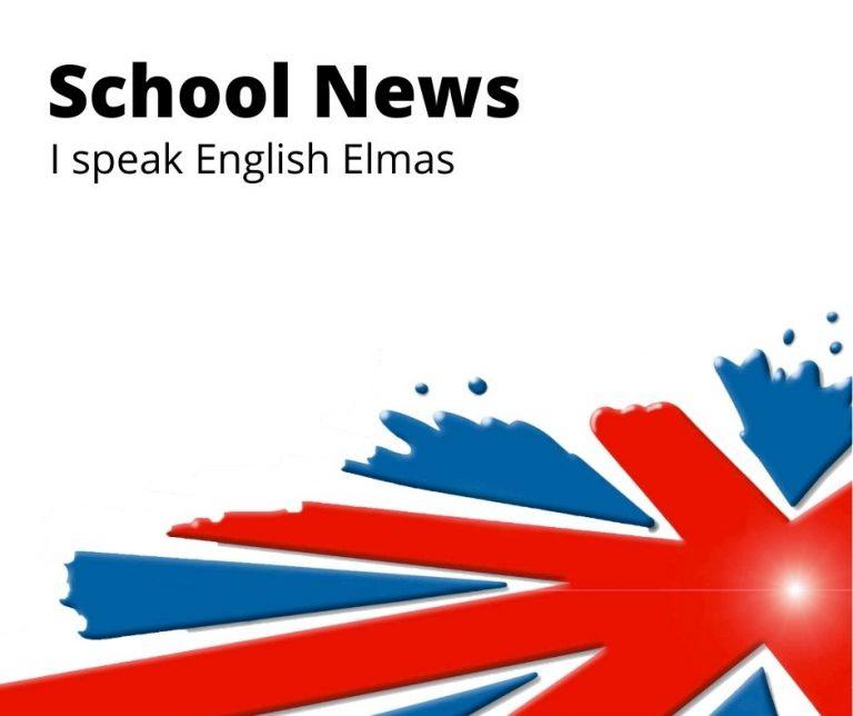 Novità della scuola nel sito i speak english school elmas