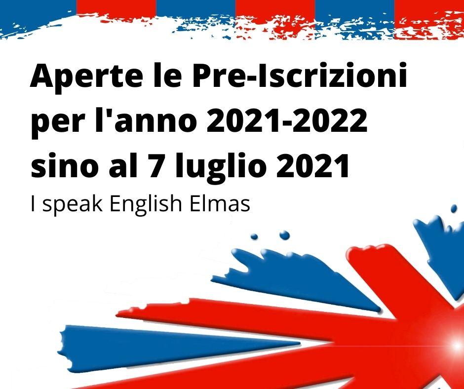 Aperte le Pre Iscrizioni per l anno 2021 2022 sino al 7 luglio 2021 elmas cagliari scuola inglese per ragazzi e adulti